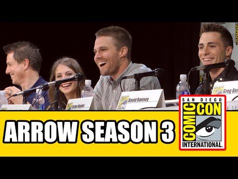 Arrow Season 3 Comic Con Panel 2014 - Part 1 | MTW