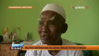 Perjuangan Mulyono, Penjaga Toilet yang Menabung 4 Tahun Demi Naik Haji