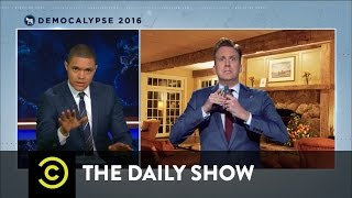 Democalypse 2016 - The Post-Debate Exhilaration: The Daily Show