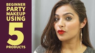 Image for video on Beginners Party Makeup Tutorial Using Just 5 Products | Urban Panache by Urban Panache