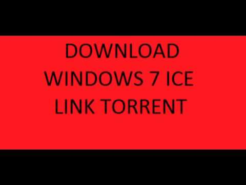 DOWNLOAD WINDOWS 7 ICE ITA LINK TORRENT