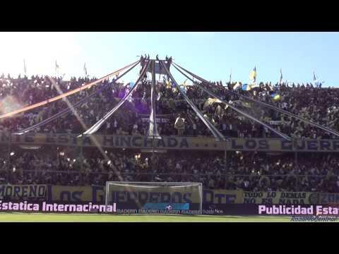 """""""""""Recibimiento"""" - Rosario Central (Los Guerreros) vs Independiente"""" Barra: Los Guerreros • Club: Rosario Central"""
