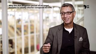 Why the due diligence period of an angel is usually shorter than a VC