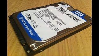 Не определяется винт. Простейший ремонт жесткого диска WD Western Digital Scorpio Blue 320Gb