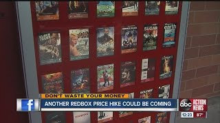 Don't Waste Your Money: Another Redbox price hike could be coming