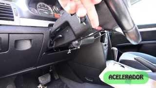 Auto para discapacitado, conducir solo con las manos