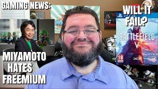 Gaming News: Rent To Own Xbox - Miyamoto Hates Freemium - Battlefield 5 Will it fail?
