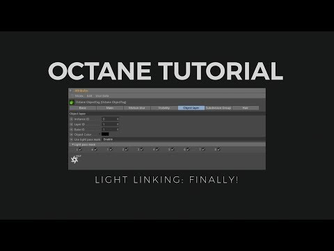 Octane Light Linking