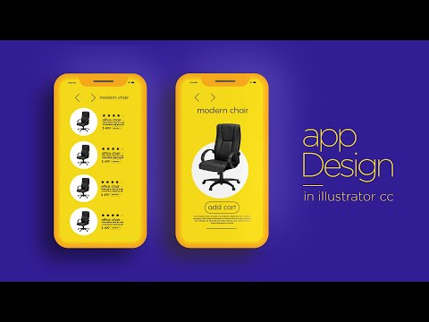 How to mobile app layout design in illustrator cc