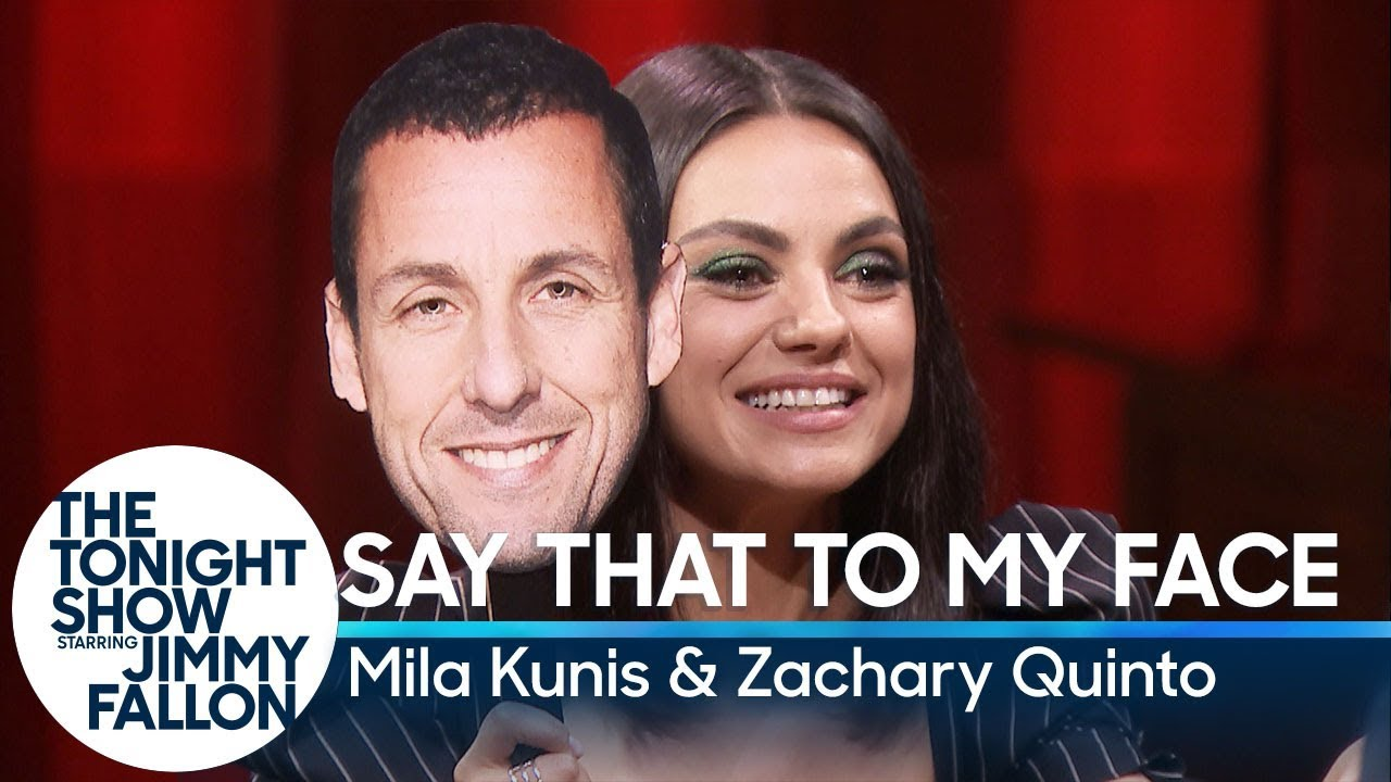 Say That to My Face Challenge with Mila Kunis and Zachary Quinto thumbnail