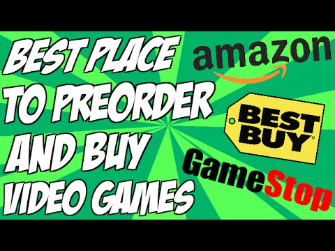 Best Place To Preorder and Buy Video Games | Which Place Gives Better Discounts and Benefits?