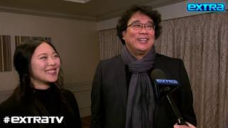 Bong Joon Ho Reacts to 'Parasite' Landing 6 Oscar Nominations