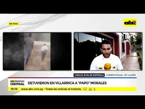 Detuvieron en Villarrica a