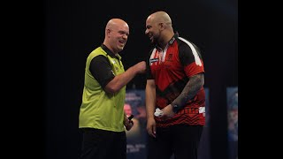 "Michael van Gerwen on beating Devon Petersen: ""He's only won one tournament – let him keep dreaming"""