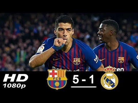 Download Barcellona Vs R.Madrrid 5-1 Hasil El Clasico Tadi Malam - 29 Oktober 2018 HD Mp4 3GP Video and MP3