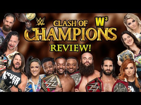 WWE Clash of Champions 2019 Review | Wrestling With Wregret