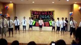 Farewell Dance:Funniest Dance Performance - IT Farewell 2014