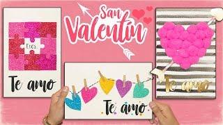 DIY: 3 Tarjetas De AMOR - Dia Del AMOR Y La AMISTAD