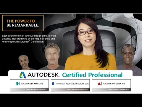 Want to officially be called an Autodesk Certified Professional ...
