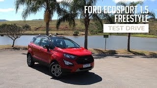 EcoSport 1.5 FreeStyle - Test Drive