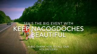 SFA's The BIG Event Receives Keep Texas Beautiful Youth and Educator Award