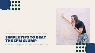 Simple tips to beat the 3pm slump