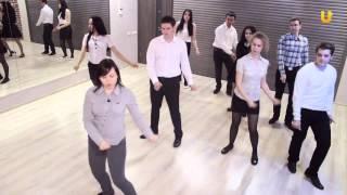"""Видеоурок по танцу Rock'n'Roll. Проект """"Весенний бал"""" город Оренбург"""