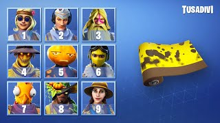 GUESS THE FORTNITE SKIN BY THE WRAP  tusadivi
