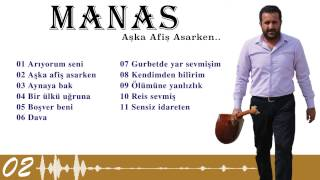 Manas  - Aşka Afiş Asarken ( Official Lyric Video )