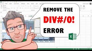 Remove the DIV#/0! Error in Excel