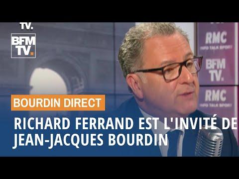 Richard Ferrand face à Jean-Jacques Bourdin en direct Richard Ferrand face à Jean-Jacques Bourdin en direct