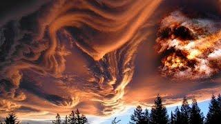 Dziwne przerażające chmury pojawiające się nad Niemcami – Schwarzwald
