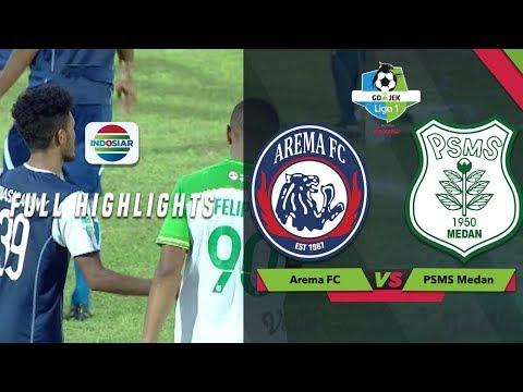 Arema FC - PSMS Medan 5:0. Видеообзор матча 28.10.2018. Видео голов и опасных моментов игры