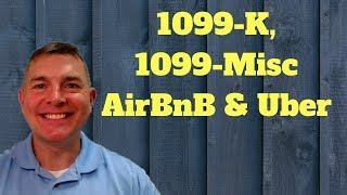 1099-K, 1099-Misc for Airbnb & Uber