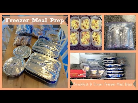 Video Meal Prep | Freezer Meals