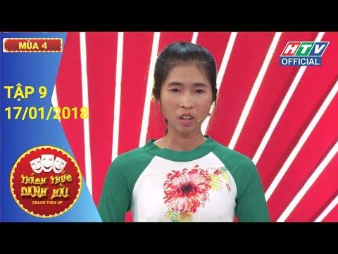 HTV THÁCH THỨC DANH HÀI MÙA 4   Xuất hiện thí sinh thắng 100 triệu   TTDH #9 FULL   17/1/2018
