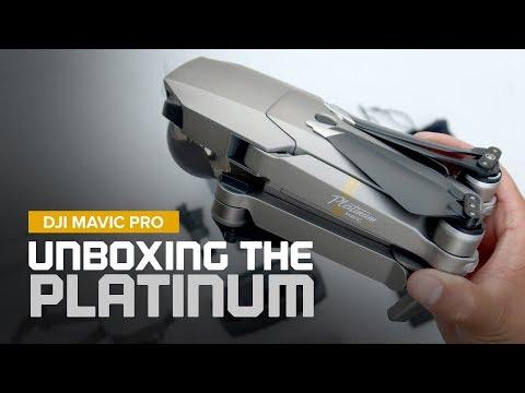Unboxing the DJI Mavic Pro Platinum