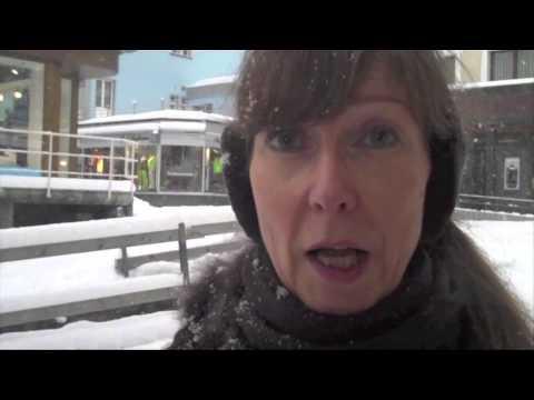 CAS Digital Publisher: Studenten drehen Video über den berühmten Geist von Davos