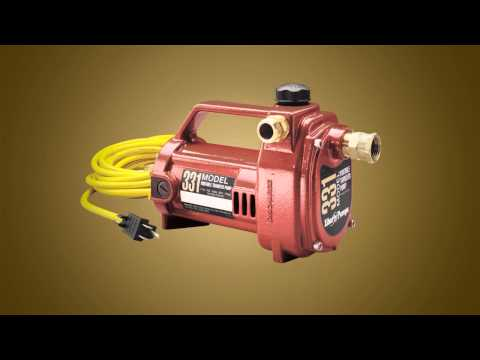Liberty Pumps 331 1/2 HP Water Transfer Pump Video