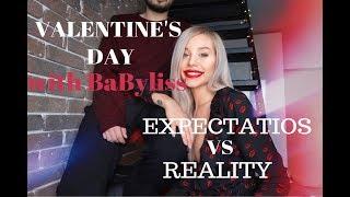 Pregatiri de Valentines cu BaByliss/ Expectations VS Reality- Carmen Grebenisan
