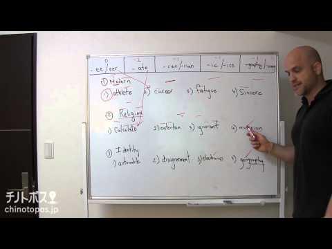 Kurt Wagnerの英語で英語を学ばない? part1