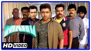 Massu Tamil Movie   Fight Scene   Suriya executes Samudhirakani   Parthiban   Aravind Akash   Riyaz