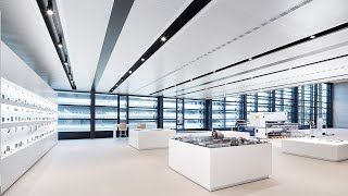 Armstrong Metal Ceilings installed at Trumpf's headquarters