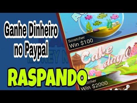 Lucky Go - Como Ganhar Dinheiro no Paypal Fácil nas Raspadinhas