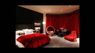 20 Black And Red Bedrooms That Really Turn Up The Heat