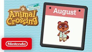 Animal Crossing: New Horizons – Exploring August - Nintendo Switch