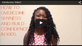 (How to Overcome Shyness in Children) and Build Incredible Confidence