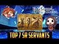 Fate Grand Order NA Top 7 SR Servants YOU Should Pick With Your Free Ticket