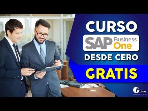 CURSO SAP BUSINESS ONE GRATIS - Introducción ERP SAP BO - APRENDE SAP