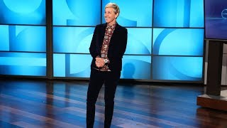 A Hilarious Surprise Guest Interrupts Ellen's 60th Birthday Celebration